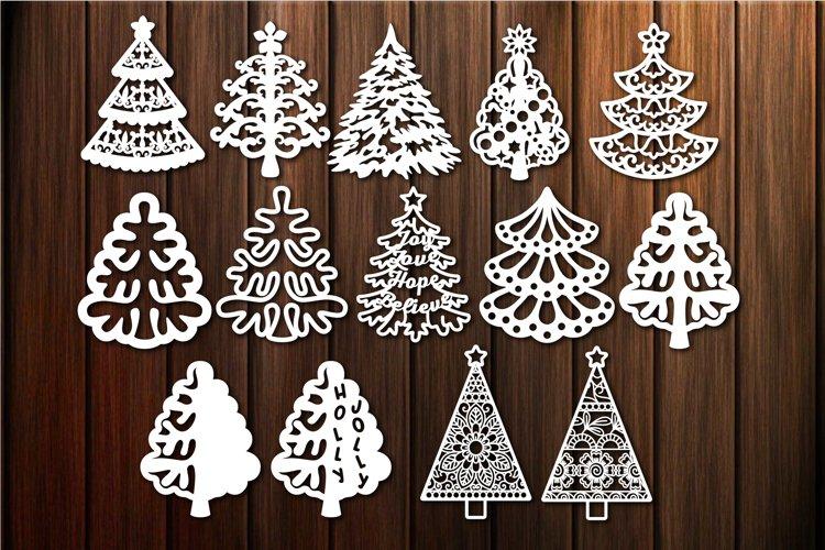 Christmas Tree SVG, Christmas Clip Art example image 1