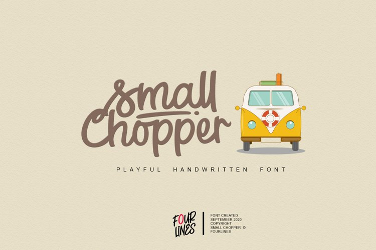 Small Chopper example image 1
