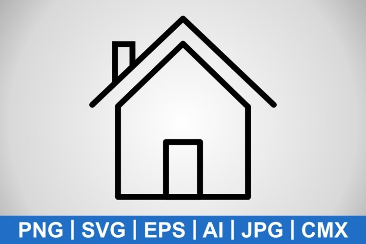 Vector House Icon example image 1
