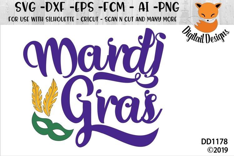Mardi Gras SVG