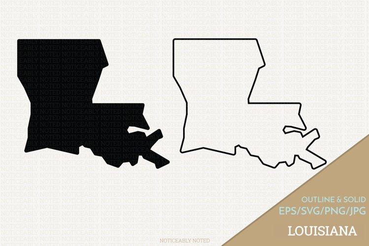 Louisiana Vector / Clip Art