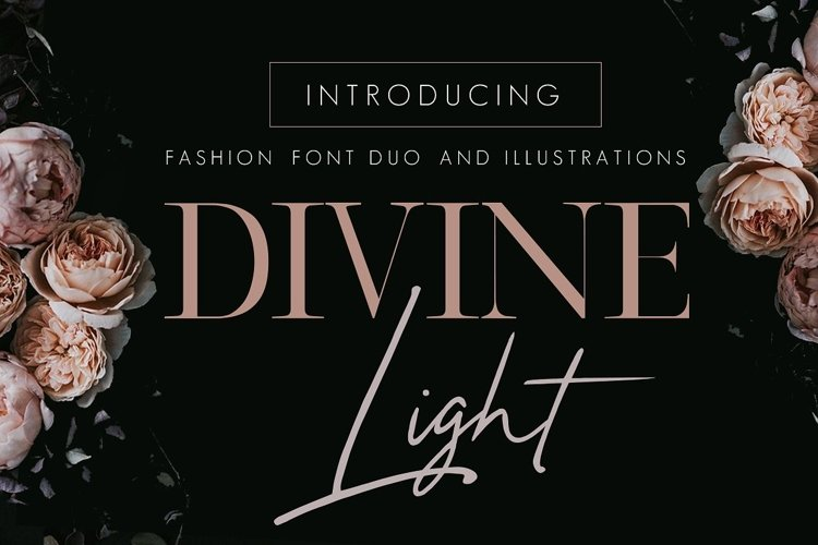 Divine Light Font Duo and extras example image 1