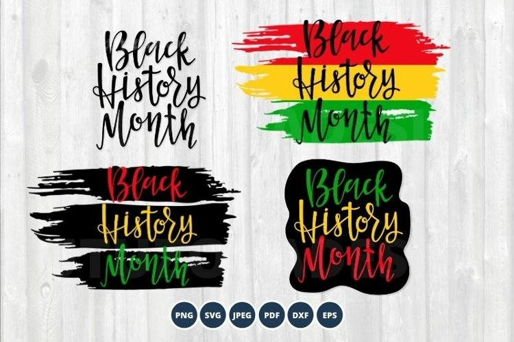 Black History month Bundle sublimation png svg eps Vector example image 1