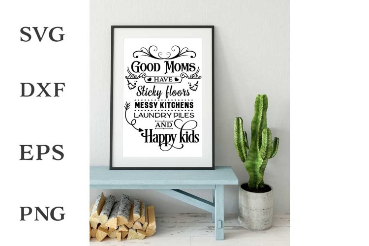Good Moms SVG cut file example image 1