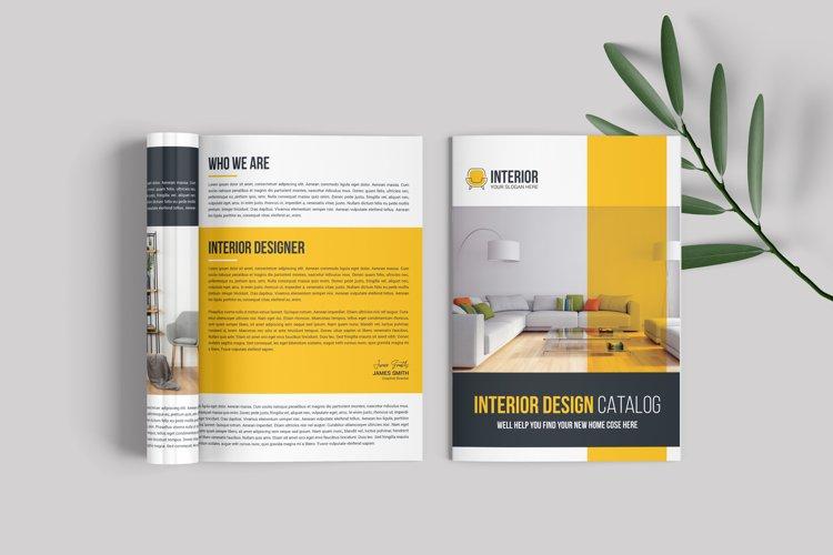 Interior Designer Brochure Template example image 1