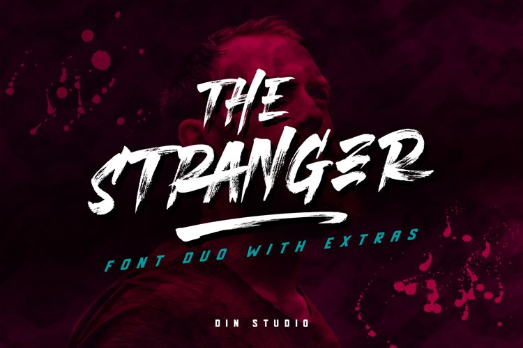 The Stranger Font Duo With Extras example image 1