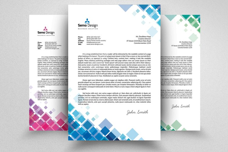 New Business Letterheads example image 1