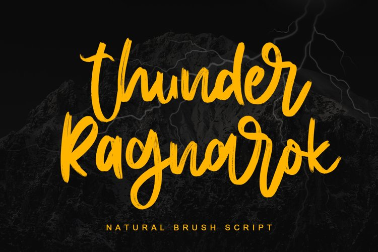 Thunder Ragnarok example image 1