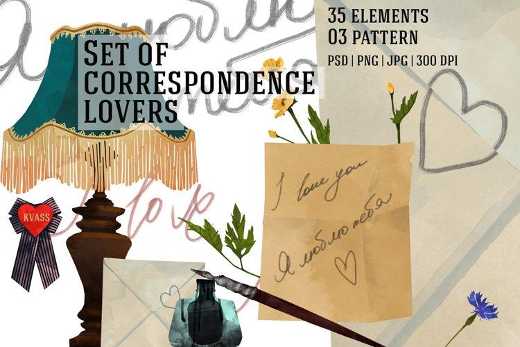 Set of correspondence lovers