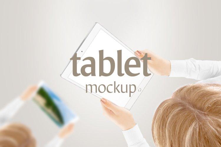 Tablet Mockup - Free Design of The Week Design4