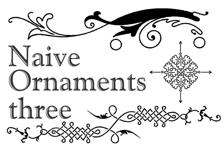 Naive Ornaments Three example image 1