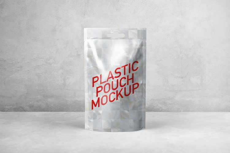 Plastic Pouch Mockup example image 1