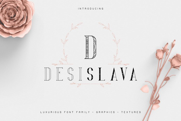 Desislava Luxurious Typeface Bonus example image 1