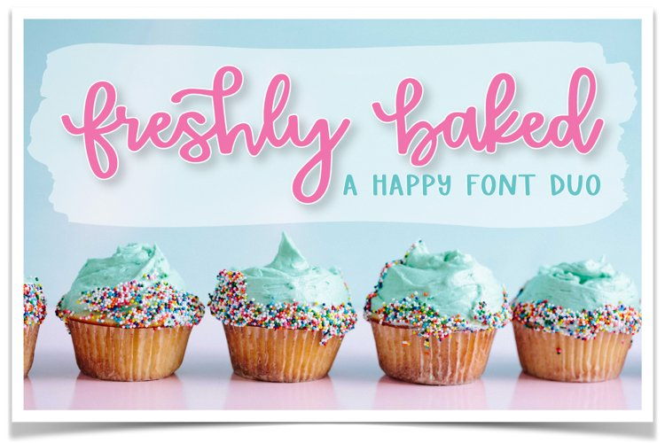 Freshly Baked Font Duo