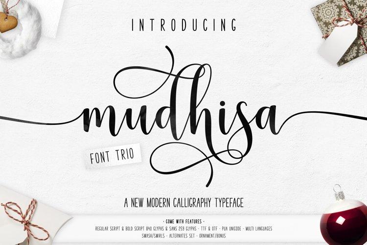 Mudhisa Script Font Trio | Special Price!