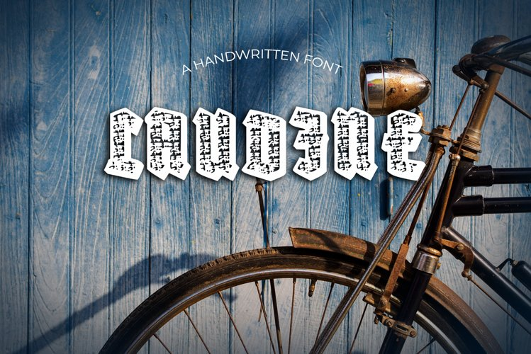 Laudine Vintage Font example image 1