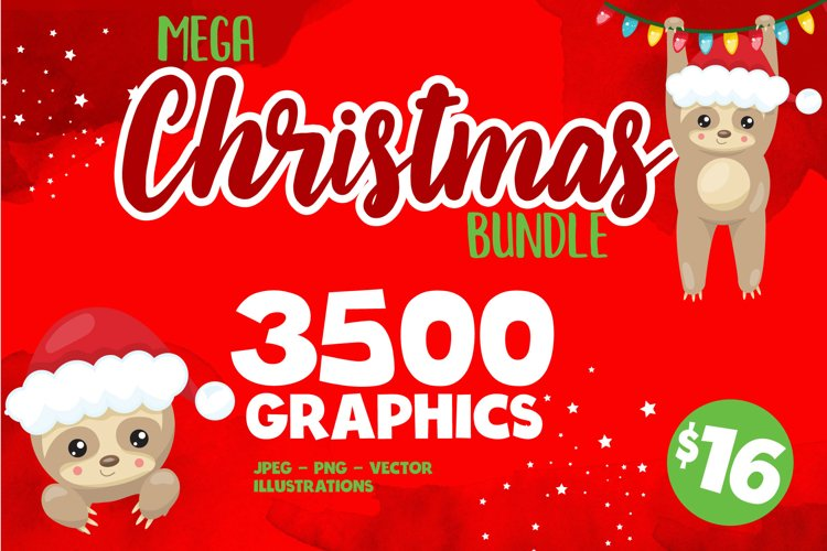 Christmas illustrations bundle - Sublimation gnomes designs
