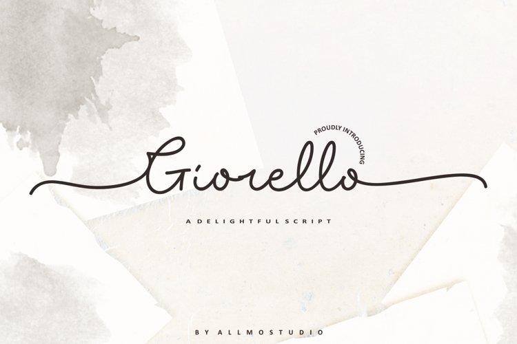 Giorello Font example image 1