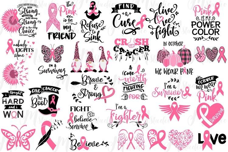 Breast Cancer SVG Bundle