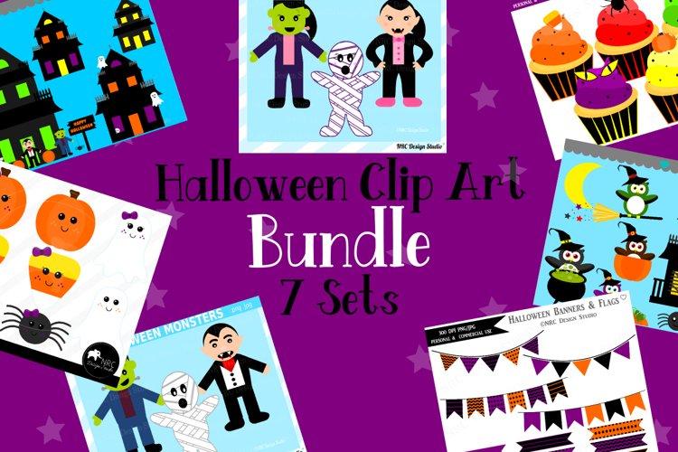 Halloween Clipart Graphics Bundle, Illustrations example image 1