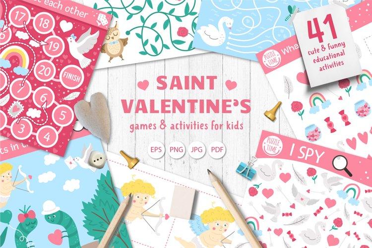 Download Saint Valentine S Games 1108636 Educational Design Bundles