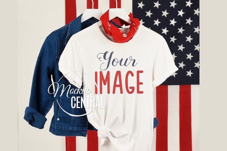 USA American Patriot Womans T-Shirt JPG Mock Up Shirt