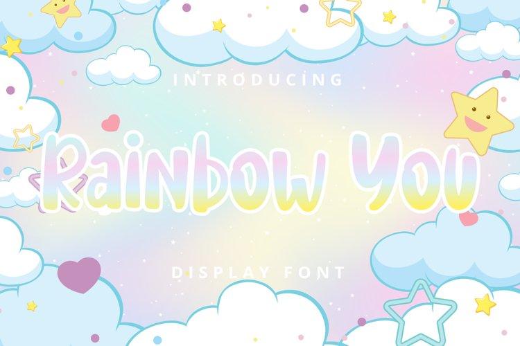 Rainbow You example image 1