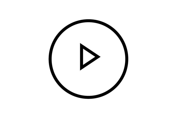 play button symbol example image 1