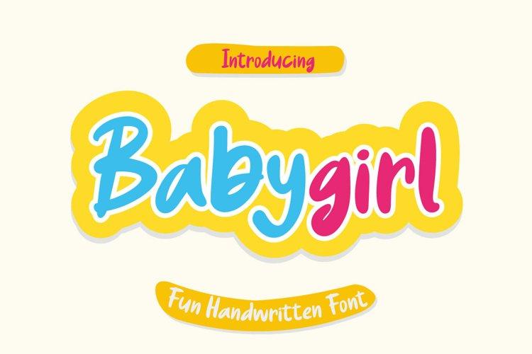 Babygirl Regular example image 1