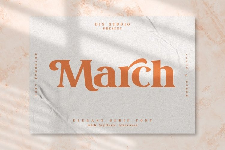 March Elegant Serif Font example image 1