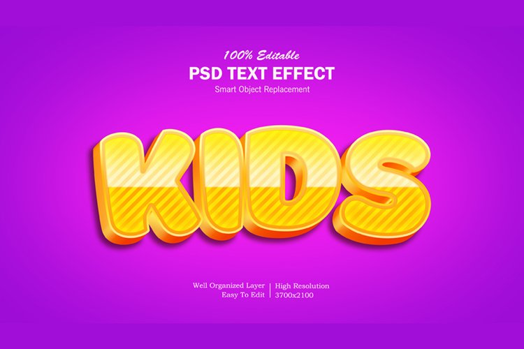 Kids3 Text Effect example image 1