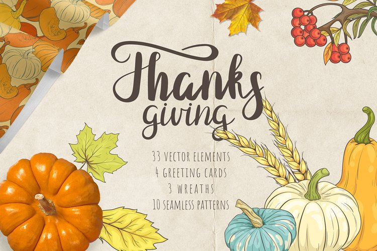 Thanksgiving Day. Big Pack example image 1