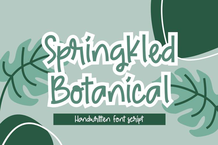 Springkled Botanical example image 1