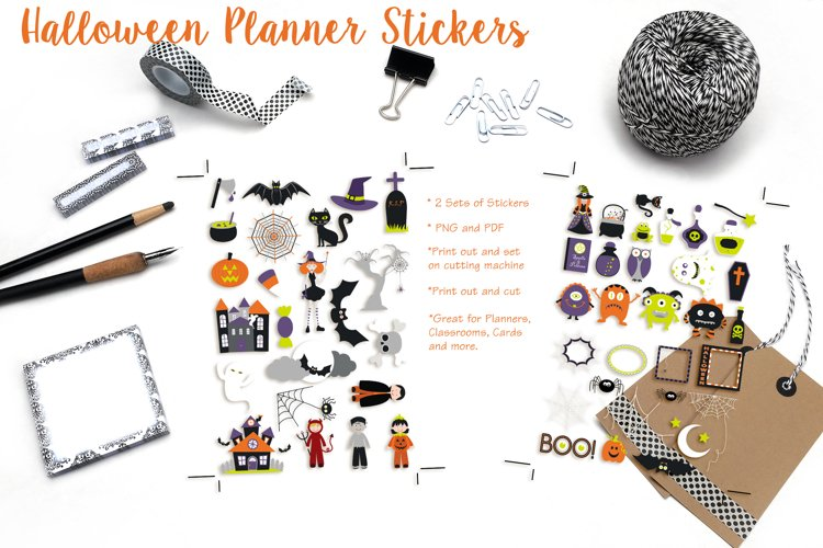 Halloween Planner Stickers