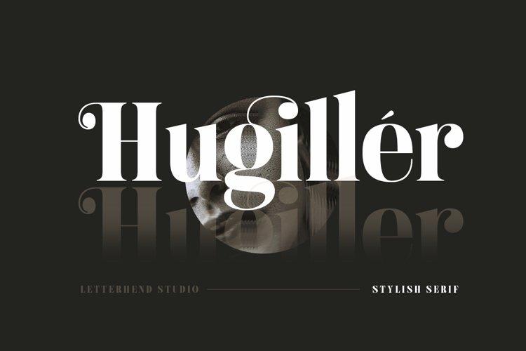 Hugiller - Stylish Serif example image 1
