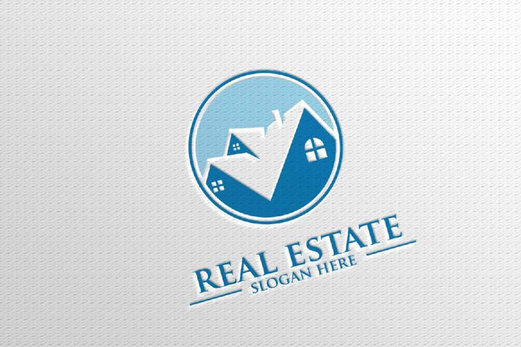 Real estate Vector Logo Design, Abstract Building and Home 9