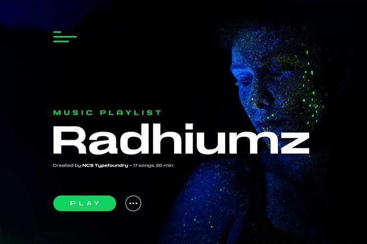 NCS Radhiumz example image 1