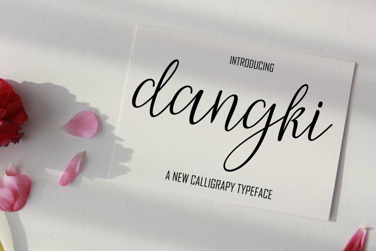 Dangki Script example