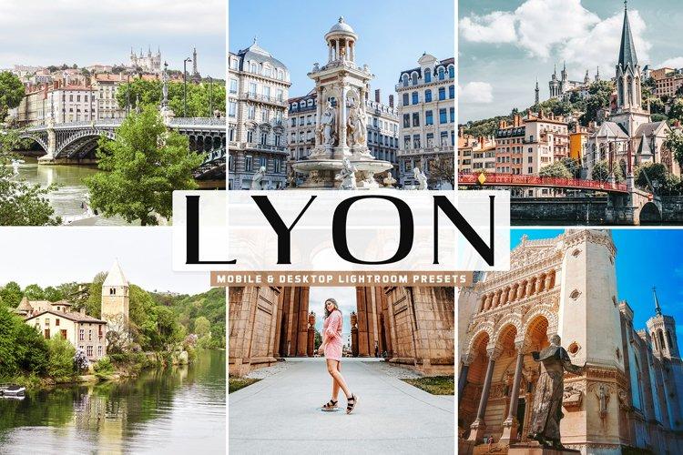 Lyon Mobile & Desktop Lightroom Presets example image 1