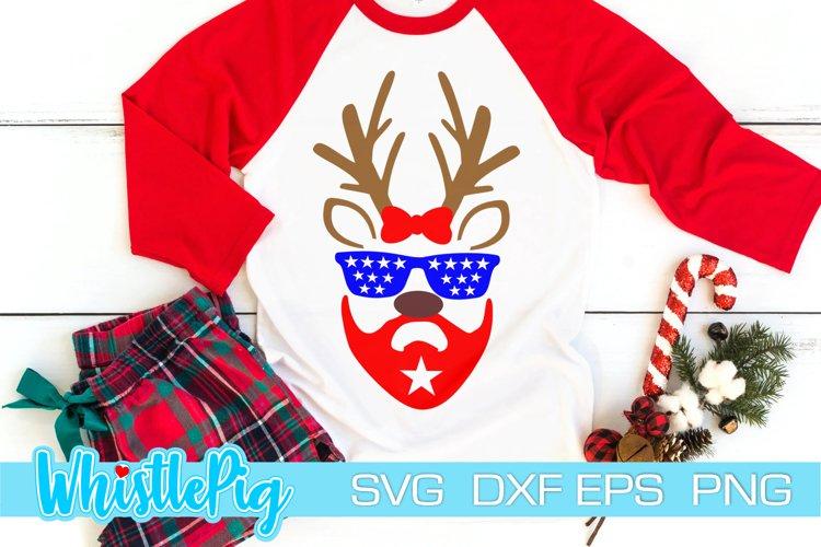 Reindeer Face SVG Reindeer Eyes SVG Reindeer Eyelash SVG