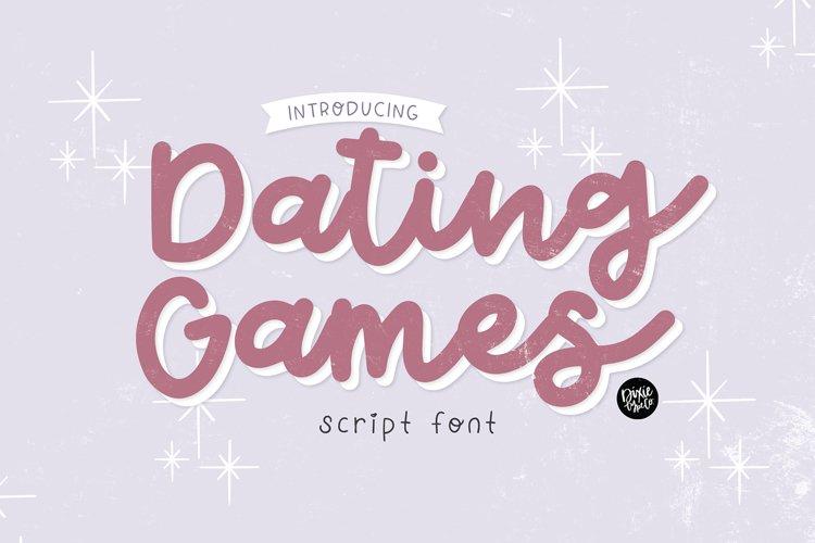 DATING GAMES Romantic Script example image 1