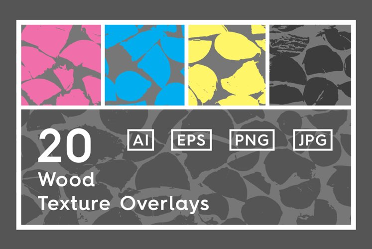 20 Wood Texture Overlays example image 1
