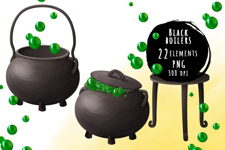 Black boilers and potion bundle example image 1