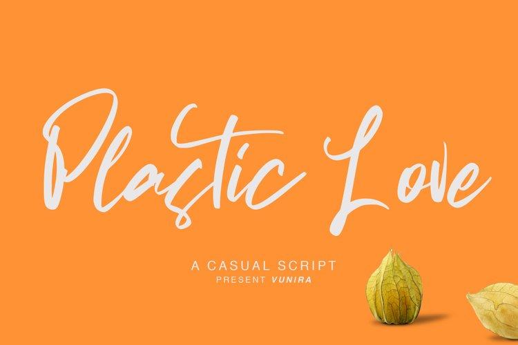 Plastic Love | A Casual Script example image 1