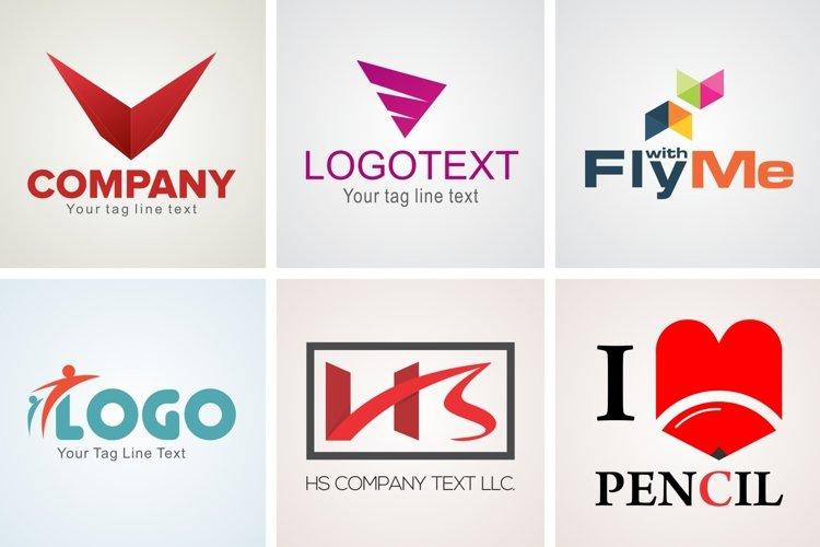 Modern Logo Design Template Set 8 example image 1