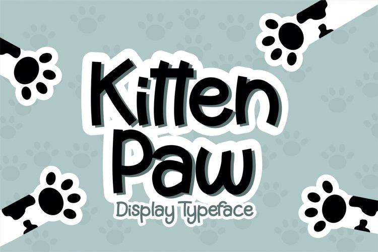 Kitten Paw example image 1