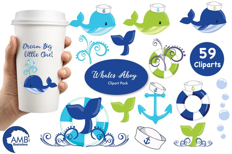 Nautical Boy clipart, graphics and illustrations Mega Pack AMB-1594 example image 1