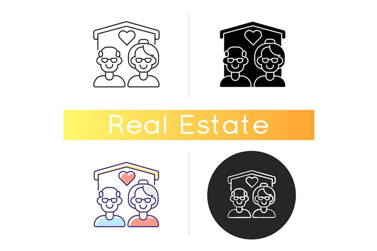 Senior housing icon example image 1