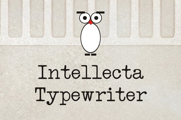 Intellecta Typewriter example image 1