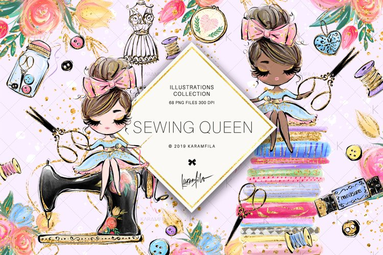 Sewing Clipart